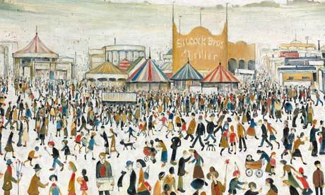 Lowry, Fun Fair At Daisy Nook