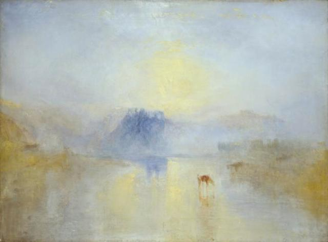 Norham Castle, Sunrise c.1845 by Joseph Mallord William Turner 1775-1851
